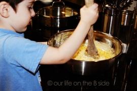 Stirring Corn Casserole