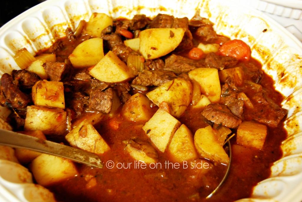 DEEELISH Beef Stew!