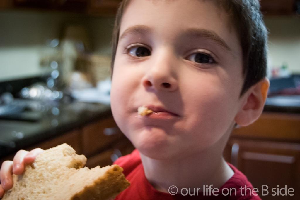 Peanut Butter Sandwiches
