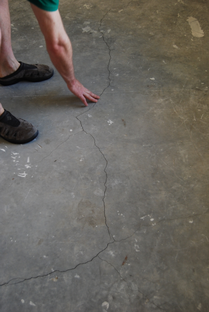 "Even if the cracks feel ""even"", FILL THEM!! If your house has already moved there, it will move there again."