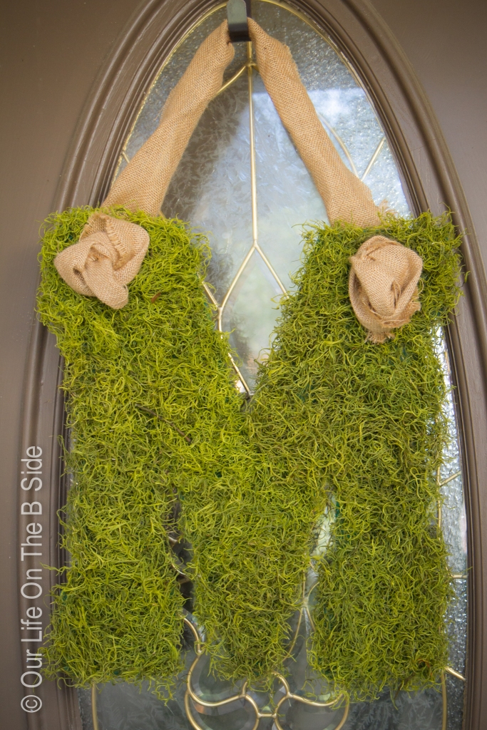 Moss M Door Ornament